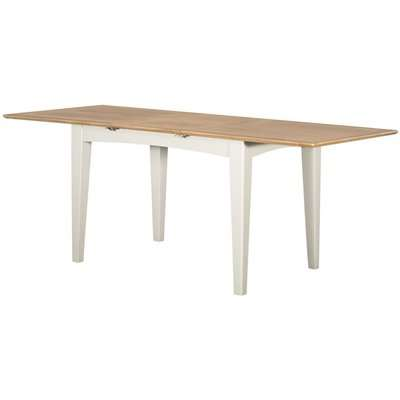 Lowell Oak and White Painted 200cm-250cm Extending Dining Table