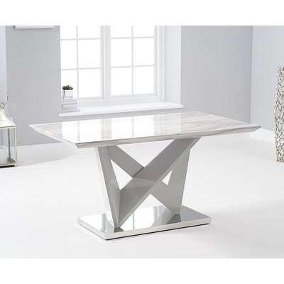 Mark Harris Rosario Light Grey High Gloss Coffee Table