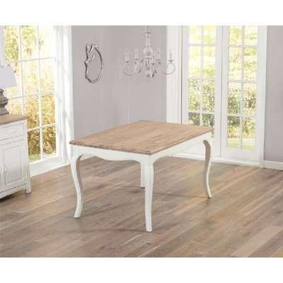 Mark Harris Sienna 130cm Ivory Painted Dining Table