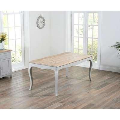Mark Harris Sienna Grey Painted Dining Table