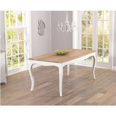 Mark Harris Sienna Shabby Chic 175cm Dining Table