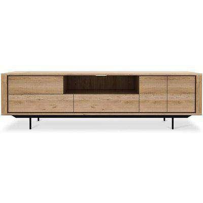 Ethnicraft Oak Shadow Large TV Cupboard