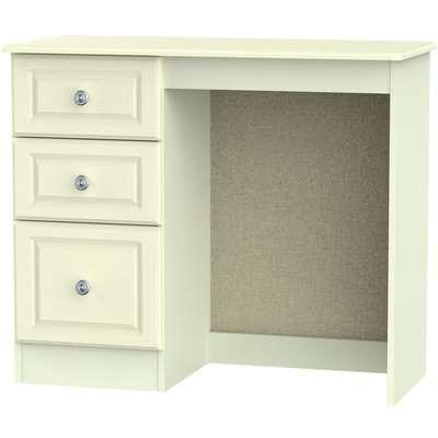 Pembroke Dressing Table - Vanity Knee Hole - Cream