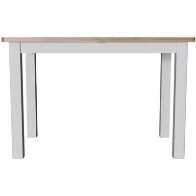 Portland Dove Grey Painted 120cm-160cm Extending Dining Table