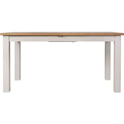 Portland Dove Grey Painted 160cm-200cm Extending Dining Table