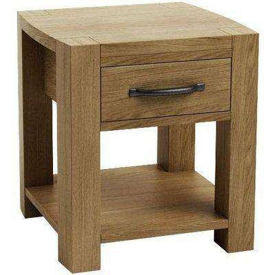 Qualita Goliath Oak Bedside Table