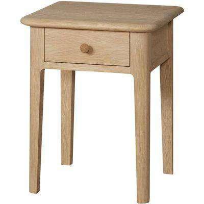 Qualita Hudson Oak Bedside Table