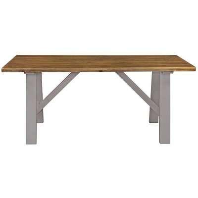 Regatta Grey Trestle Dining Table - 180cm