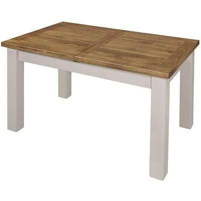 Regatta White Painted 140cm-180cm Extending Dining Table