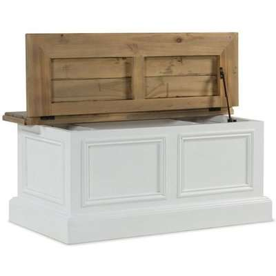 Rowico Lulworth Storage Coffee Table - White