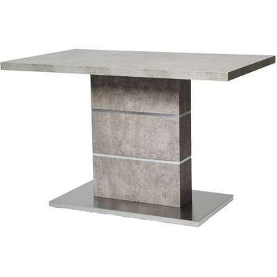 Seattle Rectangular Dining Table - 120cm