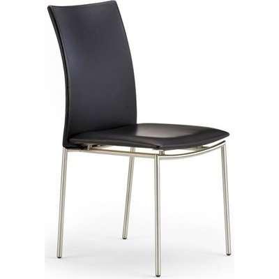 Skovby SM48 Steel Brushed Dining Chair