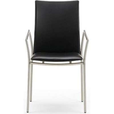 Skovby SM49 Steel Brushed Dining Chair