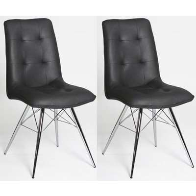 Tampa Grey Dining Chair (Pair)