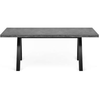 Temahome Apex Concrete Melamine Dining Table