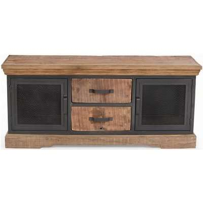 The Cosgrove Collection Marble Top Open Kitchen Island