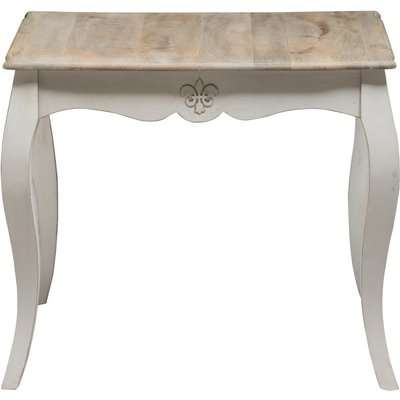 Urban Deco Fleur French Style Shabby Chic Painted 90cm Square Dining Table