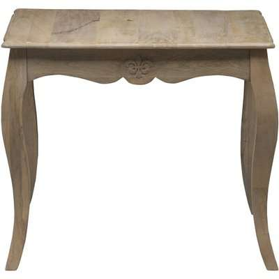 Urban Deco Fleur French Style Shabby Chic 90cm Square Dining Table