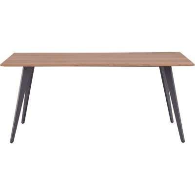 Urban Retro Acacia Wood Large Dining Table