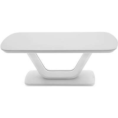 Vida Living Lazzaro White High Gloss Coffee Table