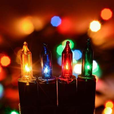 Christow 100 Multi Coloured Indoor Fairy Lights