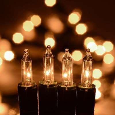 Christow 100 Warm White Indoor Fairy Lights