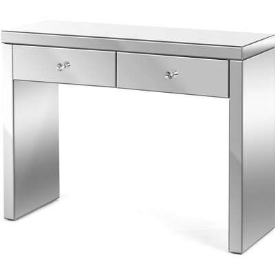 Christow 2 Drawer Mirrored Console Table