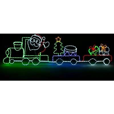 Outdoor Light Up Christmas Train