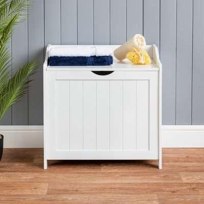 White Laundry Box