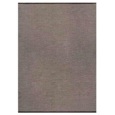 Boue Corneille Rug - 170 x 240 cm / Brown / Linen Viscose