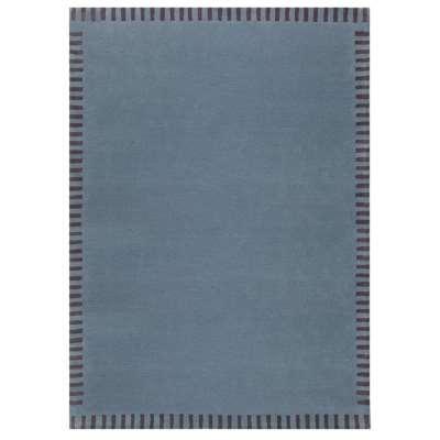 Edge Rug - 120 x 180 cm / Blue / Wool