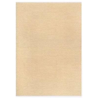Grunnettes de Sablons Rug - 120 x 180 cm / Yellow / Wool