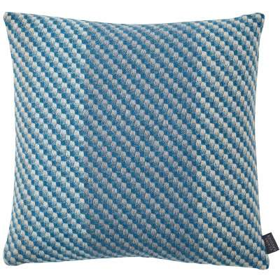 Inlet Cashmere Cushion - 43 x 43 cm / Blue / Cashmere Wool