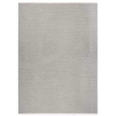 Roque Noir Rug - 170 x 240 cm / Grey / Wool
