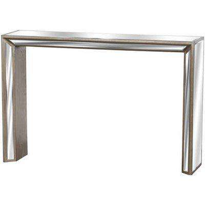 Augustus Mirrored Console Table