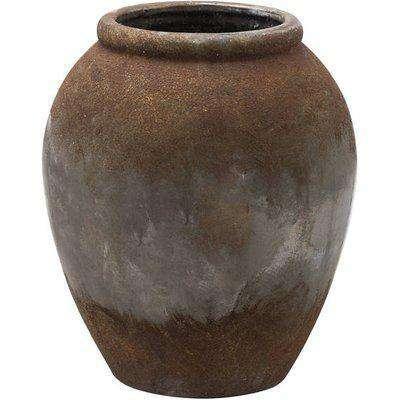 Castello Aged Stone Tall Vase
