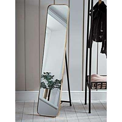 Aurum Brass Full Length Mirror