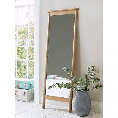 Bergen Oak Full Length Mirror
