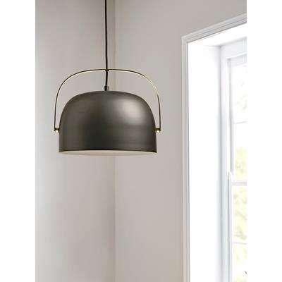 Black & Brass Pendant Light