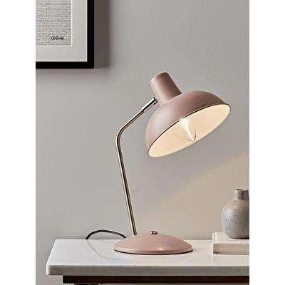 Blush & Brass Desk Lamp