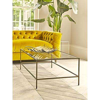 Villette Coffee Table - Burnished Brass