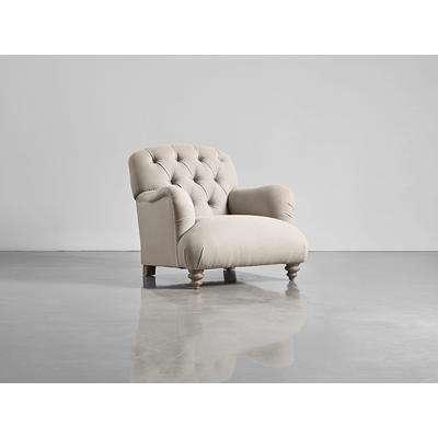 Margeaux Armchair - Birch Linen Cotton Blend