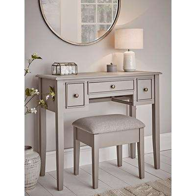 Camille Dressing Table - Grey