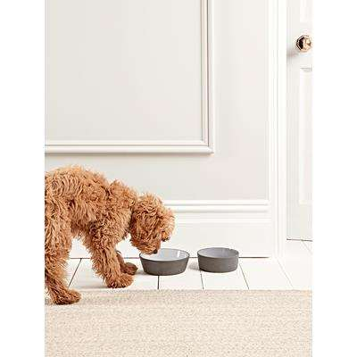 Charcoal Pet Bowl - Large