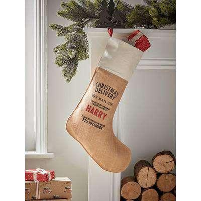 DIY Personalised Christmas Stocking