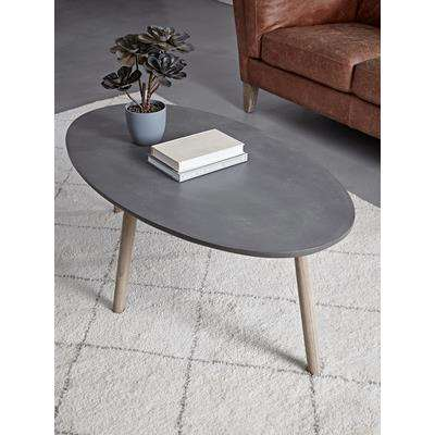 Grey Topped Coffee Table