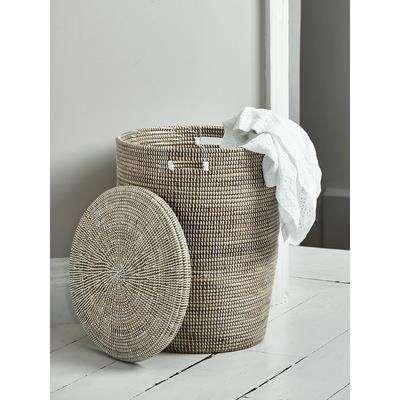 Handwoven Laundry Basket - Large