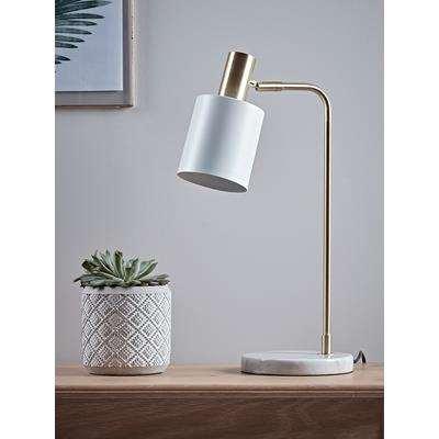 Hudson Desk Lamp - White