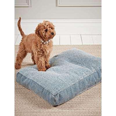 Mandala Pet Bed - Soft Blue