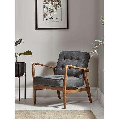 Mid Century Armchair - Linen
